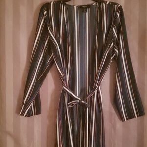 Forever21 striped kimiono/duster size 2x
